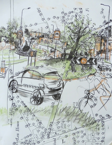 6. Cottam Way roundabout