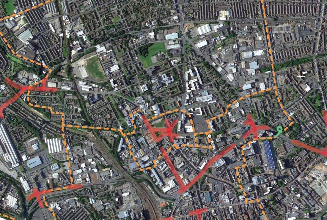 Full cycle infrastructure info on final cycle map X2