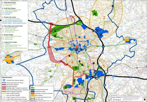 City deal map